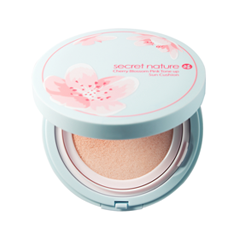 Кушон Secret Nature Cherry Blossom Pink Tone Up Sun Cushion SPF50+/PA++++ (Цвет Pink variant_hex_name FBBFB5) кушон a pieu air fit cushion pposong spf50 pa 13 цвет 13 variant hex name eed4b7