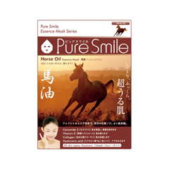Тканевая маска SunSmile Pure Smile Horse Oil Essence Mask (Объем 23 мл) diy push button no normally open switch red black 20 piece pack