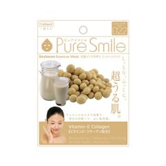 Тканевая маска SunSmile Pure Smile Soybean Essence Mask (Объем 23 мл) компактные маски для лица missha pure source pocket pack