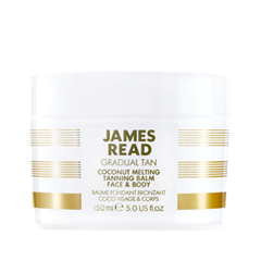 Автозагар James Read Gradual Tan Coconut Melting Tanning Balm Face & Body (Объем 150 мл) средства для загара james read рукавичка для нанесения загара enhance tanning mitt