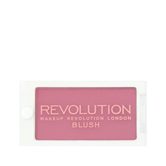 Румяна REVOLUTION Makeup Powder Blush Wow! (Цвет Wow! variant_hex_name D07F92) 8pcs ctylxyf pro makeup brushes powder eyeshadow lip blush foundation powder kabuki brushes cosmetics makeup tools
