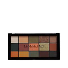 Для глаз Makeup Revolution Revolution Re-Loaded Palette Iconic Division (Цвет Iconic Division variant_hex_name 555648) makeup revolution redemption palette iconic 2 тени для век в палетке 12 тонов 13 г