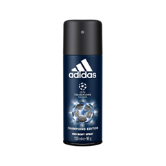 Дезодорант Adidas UEFA Champions League Champions Edition Deo Body Spray (Объем 150 мл) adidas pure game дезодорант 150 мл