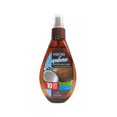 Средства для загара Floresan Cosmetic Масло для быстрого загара Карибское SPF-10 (Объем 160 мл)