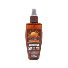 Средства для загара Floresan Cosmetic Масло водостойкое Интенсивный загар SPF-25 (Объем 150 мл)