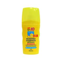 Защита от солнца Floresan Cosmetic Молочко защитное для загара водостойкое SPF-10 (Объем 170 мл)