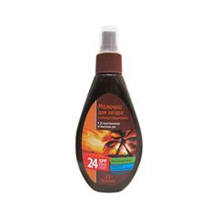Средства для загара Floresan Cosmetic Солнцезащитное молочко для загара SPF-24 (Объем 160 мл)
