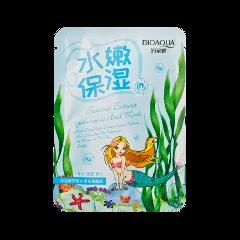 Тканевая маска BioAqua Seaweed Extract Hyaluronic Acid Mask (Объем 30 г) 1pack cordyceps extract 30
