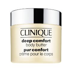 Крем для тела Clinique Deep Comfort Body Butter (Объем 200 мл) clinique deep comfort смягчающий гель для душа deep comfort смягчающий гель для душа