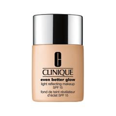 Тональная основа Clinique Even Better Glow Light Reflecting Makeup SPF15 CN 52 (Цвет CN 52 Neutral variant_hex_name E7AF89)