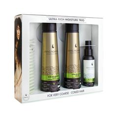 Уход Macadamia Набор Ultra Rich Moisture Trio Set macadamia professional шампунь увлажняющий для жестких волос ultra rich moisture shampoo 100мл