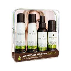 Уход Macadamia Набор Weightless Moisture Travel Essentials macadamia professional шампунь увлажняющий для жестких волос ultra rich moisture shampoo 100мл