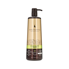 Кондиционер Macadamia Ultra Rich Moisture Conditioner (Объем 1000 мл) macadamia professional шампунь увлажняющий для жестких волос ultra rich moisture shampoo 100мл
