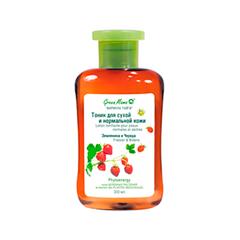 Тоник Green Mama Тоник для сухой и нормальной кожи (Объем 300 мл) крем для сухой кожи рук календула и масло смородины green mama 100 мл