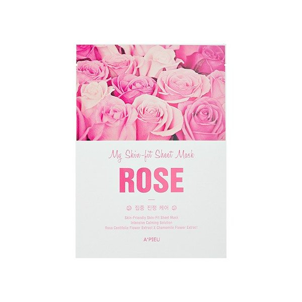 Тканевая маска A'pieu My Skin-Fit Sheet Mask Rose (Объем 25 г)  мл