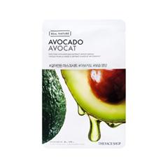 Тканевая маска The Face Shop Real Nature Avocado Face Mask (Объем 20 г) 20 мл