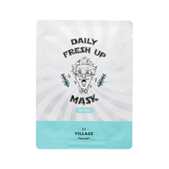 Тканевая маска Village 11 Factory Daily Fresh up Mask Tea Tree (Объем 20 мл )