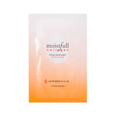 Тканевая маска Etude House Moistfull Collagen Fasial Mask Sheet (Объем 23 мл) etude house collagen moistfull mask sheet 5sheets korean beauty [imported]