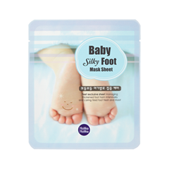 Маска Holika Holika Маска для стоп Baby Silky Foot Mask Sheet (Объем 18 мл*2) тканевая маска holika holika juicy mask sheet honey