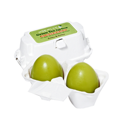 все цены на Мыло Holika Holika Green Tea Egg Soap (Объем 50 г*2) онлайн