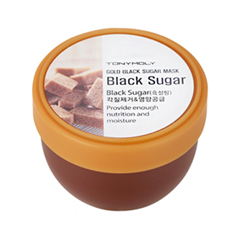 Маска Tony Moly Маска-скраб Gold Black Sugar Mask (Объем 100 мл) маска skinfood black sugar strawberry mask 100 г