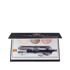 Набор для бровей Anastasia Beverly Hills Beauty Express For Brows and Eyes (Цвет Brunette variant_hex_name 67452A)