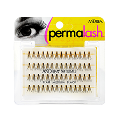��������� ������� Andrea ������������ ����� Perma Lash Naturals Medium Black