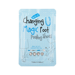 Пилинг Tony Moly Changing U Magic Foot Peeling Shoes (Объем 2*17 мл)
