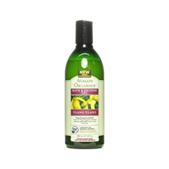 Гель для душа Avalon Organics Ylang Ylang (Объем 355 мл) кондиционер kapous professional hair conditioning cream with ylang ylang flower essential oil