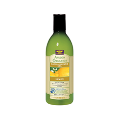 Гель для душа Avalon Organics Lemon (Объем 355 мл)