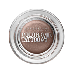 Тени для век Maybelline New York EyeStudio Color Tattoo 35 (Цвет Бронзовый рай №35 variant_hex_name 835B4B)
