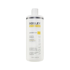 Кондиционер Bosley Вos Defense Volumizing Сonditioner Normal to Fine Color-Treated Hair (step 2) (Объем 1000 мл) кондиционер bosley вos defense volumizing сonditioner normal to fine non color treated hair step 2 объем 1000 мл