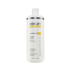 Шампунь Bosley Вos Defense Nourishing Shampoo Normal to Fine Color-Treated Hair (step 1) (Объем 1000 мл) кондиционер bosley вos defense volumizing сonditioner normal to fine non color treated hair step 2 объем 1000 мл