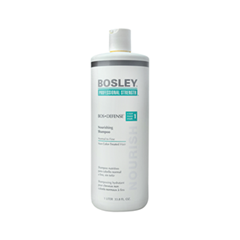 Шампунь Bosley Вos Defense Nourishing Shampoo Normal to Fine Non Color-Treated Hair (step 1) (Объем 1000 мл) кондиционер bosley вos defense volumizing сonditioner normal to fine non color treated hair step 2 объем 1000 мл