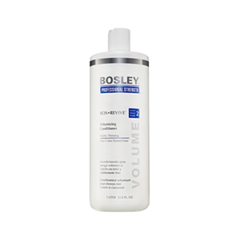 Кондиционер Bosley Вos Defense Volumizing Сonditioner Visibly Thinning Non Color-Treated Hair (step 2) (Объем 1000 мл) кондиционер bosley вos defense volumizing сonditioner normal to fine non color treated hair step 2 объем 1000 мл