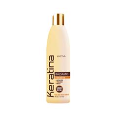 бальзамы ahalo butter бальзам ополаскиватель растительный для объема восстановления и шикарного блеска волос 500 мл Бальзам Kativa Кератиновый бальзам-кондиционер (Объем 500 мл)