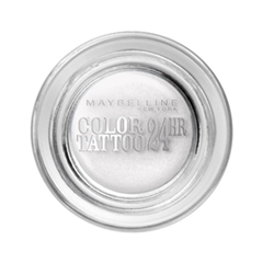 Тени для век Maybelline New York EyeStudio Color Tattoo 45 (Цвет Бесконечно белый №45 variant_hex_name F9F5F1)