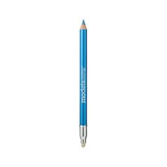 Карандаш для глаз Models Own Shimmer Eyeliner Pencil Azure Blue (Цвет Azure Blue)