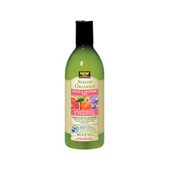 Гель для душа Avalon Organics Grapefruit  Shower Gel (Объем 355 мл)