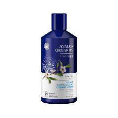 Лечение перхоти Avalon Organics Лечебный кондиционер Tea Tree Mint Therapy (Объем 400 мл)
