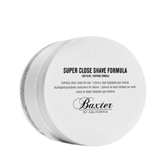 Для бритья Baxter of California Крем для бритья Super Close Shave Formula (Объем 240 мл) для бритья proraso pre shave cream sensitive skin formula объем 100 мл