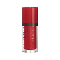 Жидкая помада Bourjois Rouge Edition Velvet 01 (Цвет 01 Personne ne Rouge variant_hex_name B51621 Вес 10.00) помада bourjois rouge edition 12 heures 34