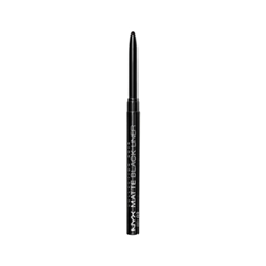 Карандаш для глаз NYX Professional Makeup Matte Black Liner (Цвет BEL02 Noir variant_hex_name 000000) подводка nyx professional makeup super skinny eye marker цвет carbon black variant hex name 000000