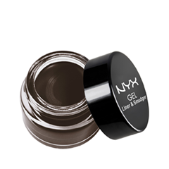 �������� NYX Gel Liner & Smudger 05 (���� 05 Dark Brown)