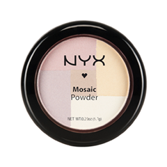 Румяна NYX Professional Makeup Mosaic Powder Blush 01 (Цвет Highlighter variant_hex_name CBBACA)