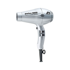 Фен Parlux Parlux 3800 Eco Friendly Silver parlux фен 3800 eco friendly ion ceramic 2100 w красный