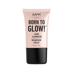 Хайлайтер NYX Professional Makeup Born To Glow Liquid Illuminator Sunbeam (Цвет 01 Sunbeam variant_hex_name F4E5E8) праймер nyx professional makeup big