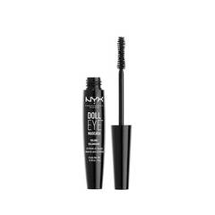 Тушь для ресниц NYX Professional Makeup Doll Eye Mascara Volume (Цвет Black variant_hex_name 000000) подводка nyx professional makeup super skinny eye marker цвет carbon black variant hex name 000000