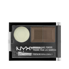 цена на Тени для бровей NYX Professional Makeup Eyebrow Cake Powder 03 (Цвет 03 Taupe/Ash variant_hex_name 726A67)