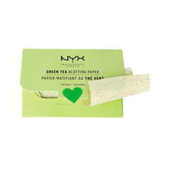 Матирующие салфетки NYX Professional Makeup Green Tea Blotting Paper